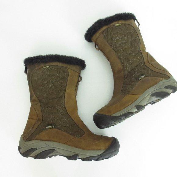 Keen Betty II Snow Boots Black Winter Womens